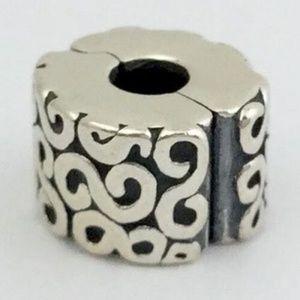 PANDORA Retired S-Clip Lock Bead 790338